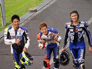 九州ロードレースのレーサー